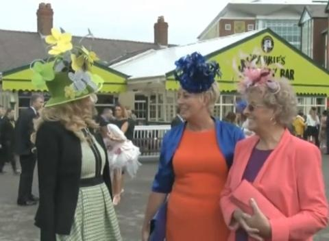 News video: Liverpool Glams Up for Ladies Day at Aintree
